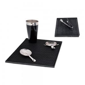 Service mat με μαύρο λάστιχο 30x45x1 cm