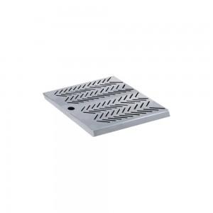Bar mat σχάρα ανοξείδωτη τετράγωνη 24x24x2 cm