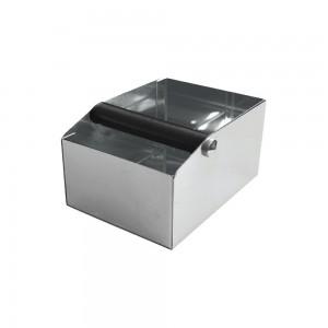 Κουτί Inox για υπολείμματα καφέ παραλληλόγραμμο 20x15x11,5 cm
