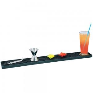 Bar mat με μαύρο λάστιχο 60x85x1 cm