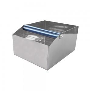 """Κουτί Inox για υπολείμματα καφέ """"BIG"""" 20x24x13 cm"""
