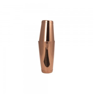 "Shaker (Σέικερ) ""tin tin"" 2 τμημάτων Inox copper 700 ml / 28 cm"