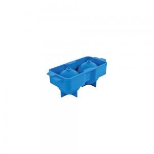 Καλούπι πάγου στρογγυλό 2 θέσεων σιλικόνης 15,3x5,7 cm