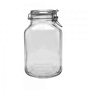 Δοχείο με γυάλινο καπάκι 0,75 lt