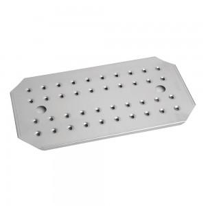 Δίσκος στραγγίσματος inox 201 GN 1/1 (32,5x26,5 cm)