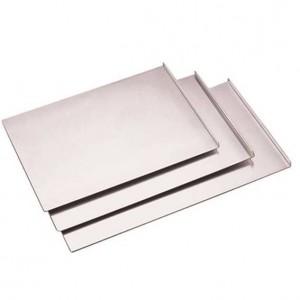 Δίσκος πάστας αλουμινίου (3 πλευρές) 40x27 cm | 1 cm