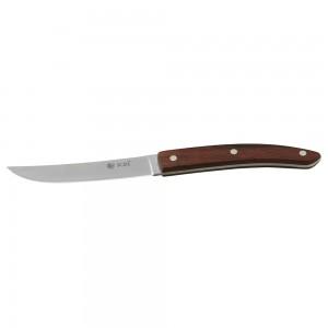 Μαχαίρι steak λείο με ξύλινη λαβή 23,3 cm