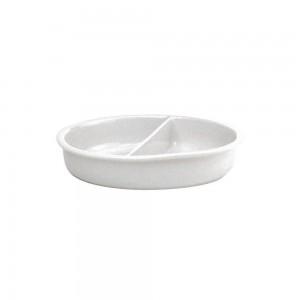 """Δοχείο πορσελάνης για μπεν μαρί 2μερών """"Neutral"""" 33,5x7 cm (2,6 lt)"""