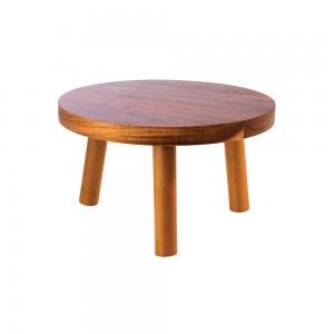 Stand μπουφέ ξύλινο, ακακίας 15 cm | 10 cm