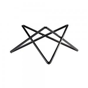 "Stand μπουφέ μεταλλικό, μαύρο,""Prisma"" 20 cm | 10,5 cm"