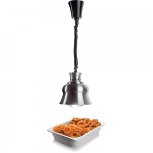 Λάμπα θέρμανσης buffet οροφής, Αλουμινίου 23 cm   140,5 cm, 275 W / 230 V
