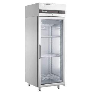 Ψυγείο βιτρίνα θάλαμος συντήρησης Inox-Glass|  -2°C +8°C | 72x90,5x210