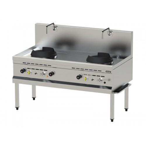 Εστία αερίου ασιατικής κουζίνας WOK | NGK 80S